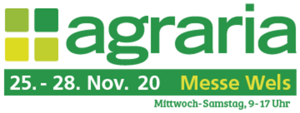 Logo der Agraria Messe in Wels